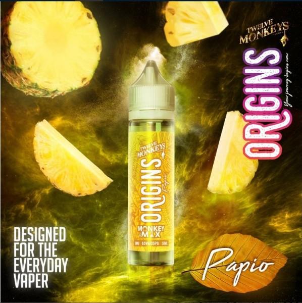 Twelve Monkeys - Origins - Papio - Shake & Vape 50ml
