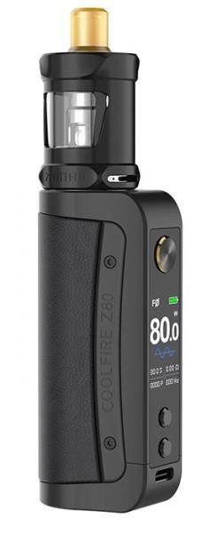 Innokin Coolfire Z80 mit Zenith 2 E Zigaretten Set schwarz