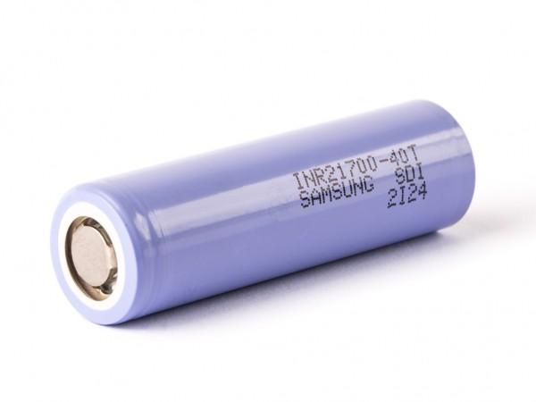 Samsung INR21700-40T, 4000mAh 35A Li-Ionen-Akku, 3,6V - 3,7V