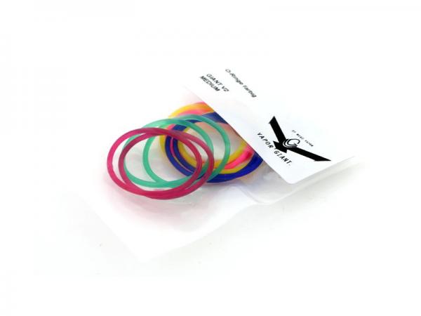 O-Ringe bunt für Vapor Giant v2 32,5 mm und Medium v2 30 mm
