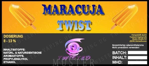 TWISTED Aroma MARACUJA TWIST